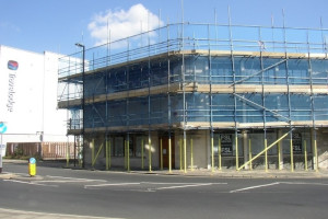 Advanced Scaffolding_New Office Refurbishment South Hamton 300x200
