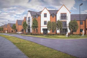 Advanced scaffolding, Cala homes, Crowthorne