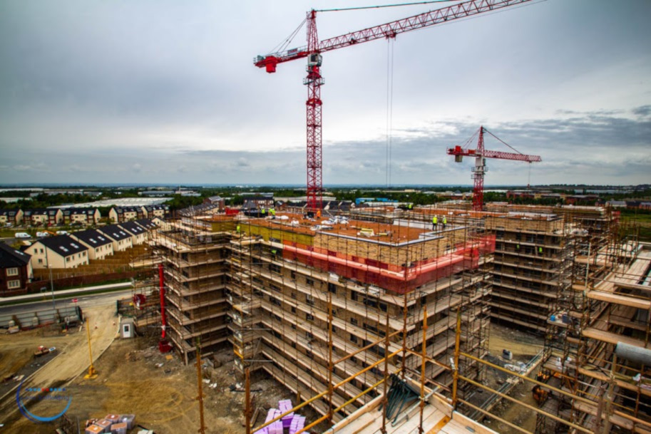 Laois Scaffolding Cairn Homes